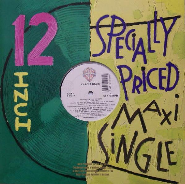 Carole Davis - It's in My Genes Single